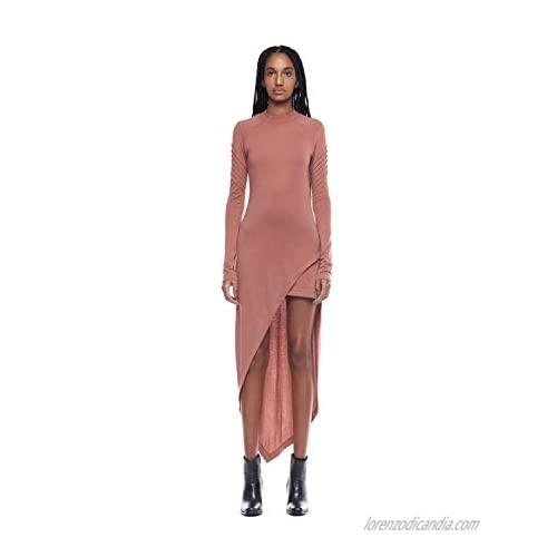 Jonny Cota Studio Women's Asymetrical Mini Moto Dress