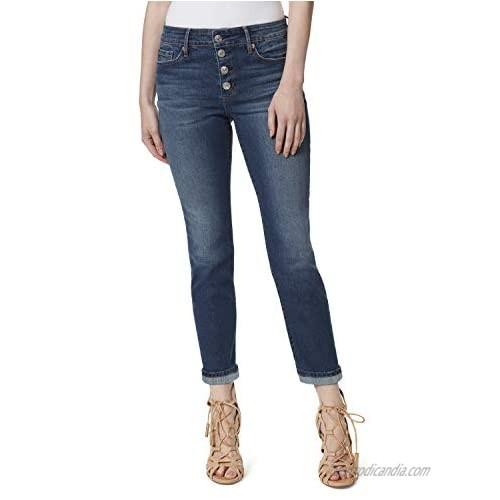 Jessica Simpson Women's Plus Size Arrow Straight Ankle Jean