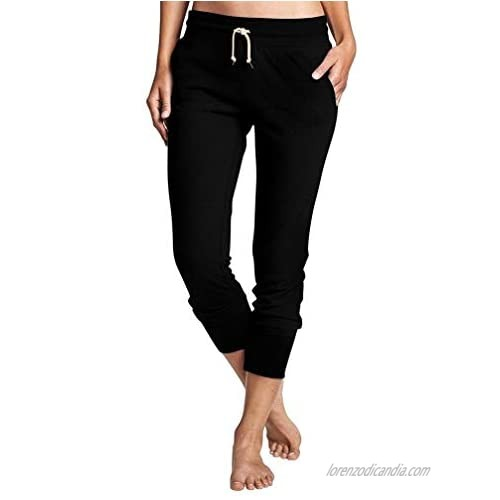XXTAXN Women's Casual Comfy Soft Drawstring Sweat Pants with Pocket
