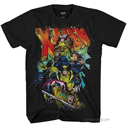 Marvel X-Men 90's Team Breakout Comics Officially Licensed Adult T Shirt