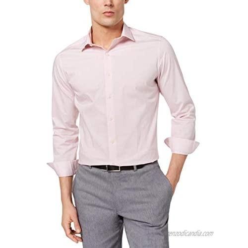 Bar III Mens Slim Fit Long Sleeves Button-Down Shirt