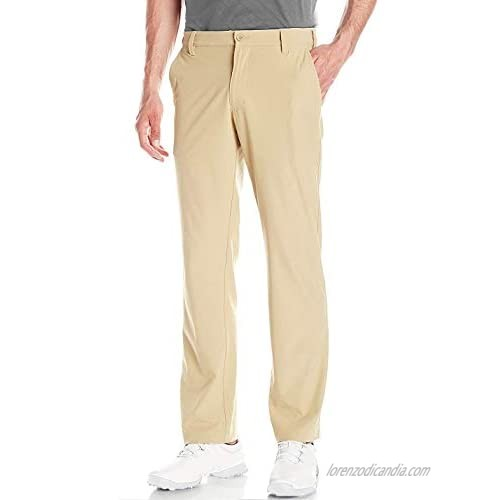 Lesmart Men's Golf Pants Tapered Plaid Stretch Tech Relaxed Fit Lightweight