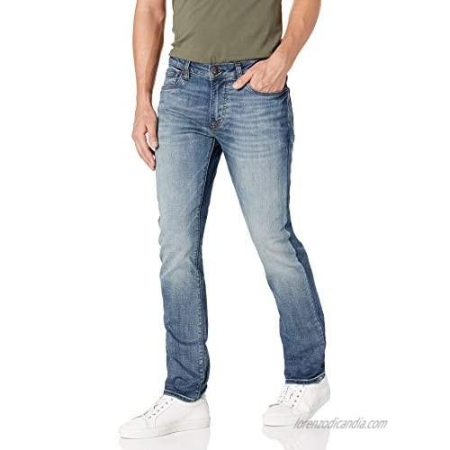 Buffalo David Bitton Men's Slim ASH Jeans  Rinse WASH Indigo  33W x 34L