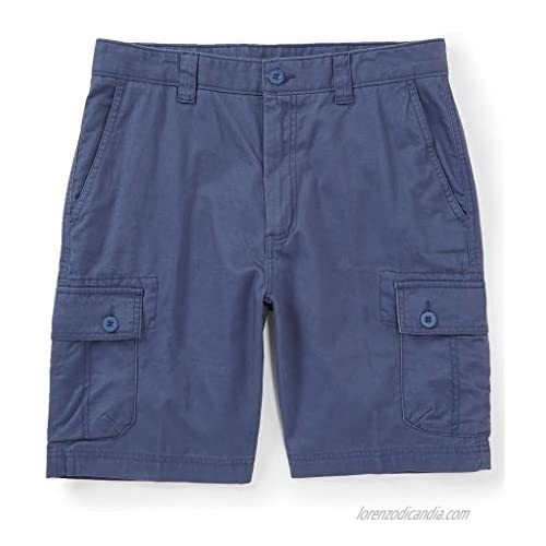 Roundtree & Yorke Big & Tall Washed Utility Cargo Shorts S95HR326B  S95HR326T