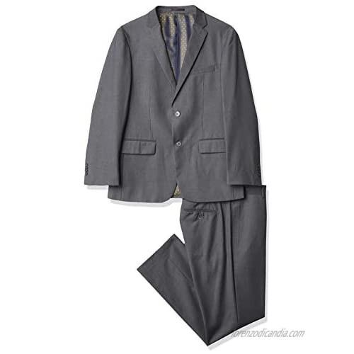 Kitonet Men's Solid 2-Piece Slim Fit Suit